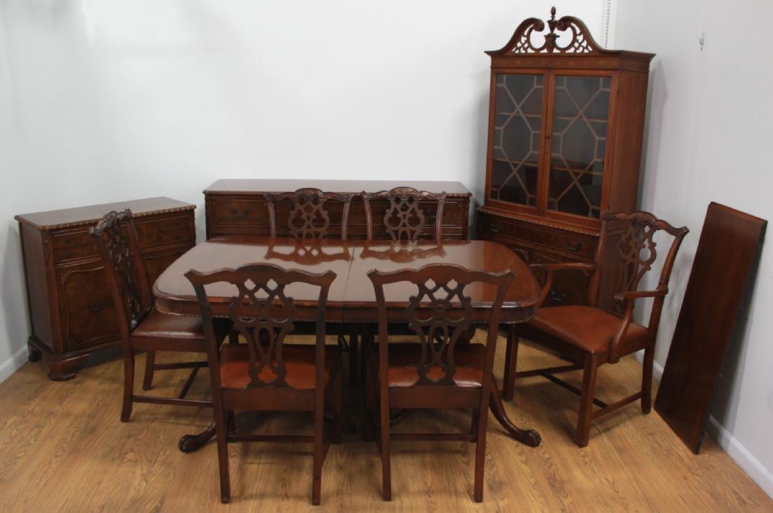 10-Piece Magohany Dining Room Set