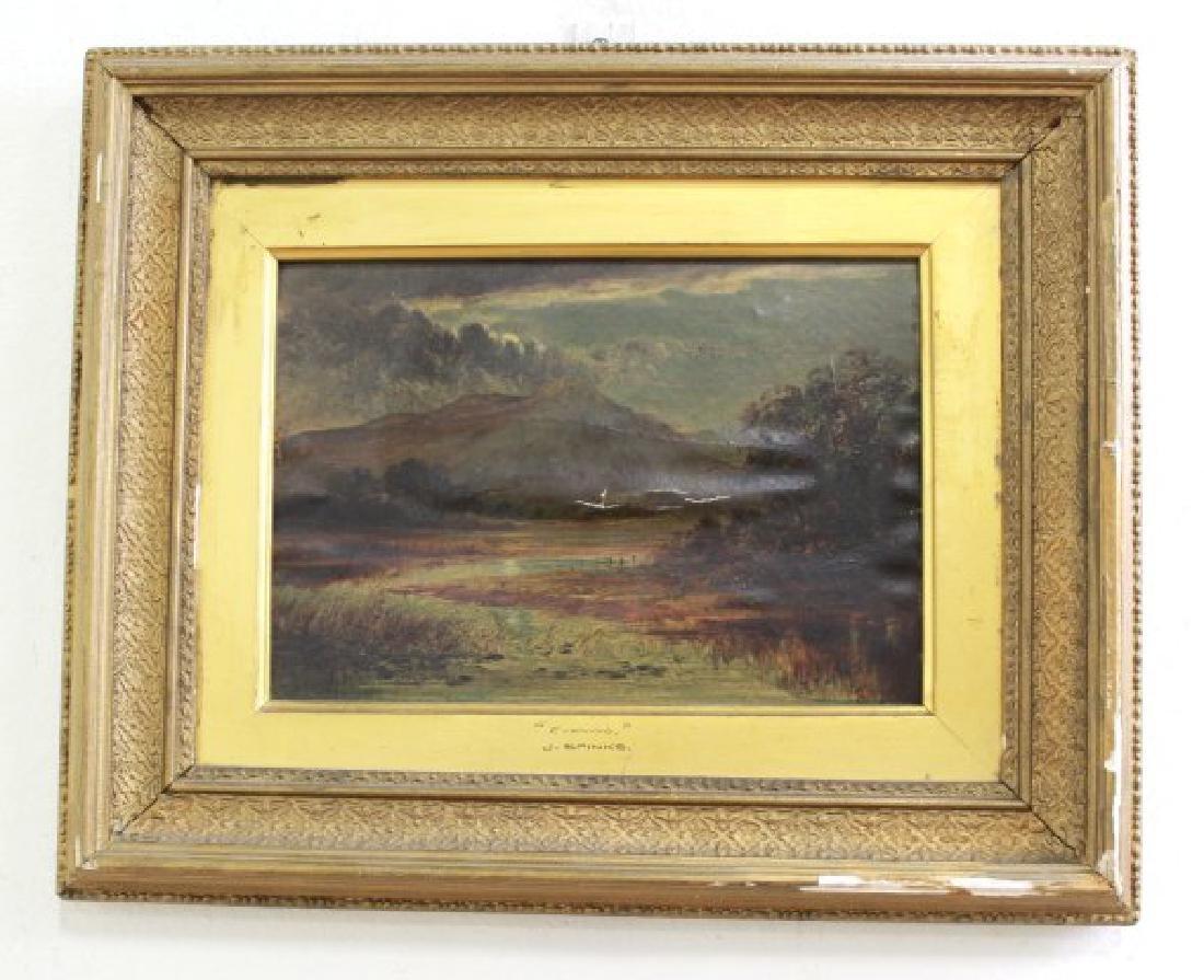 :J. Spinks, Pair Landscapes - 2