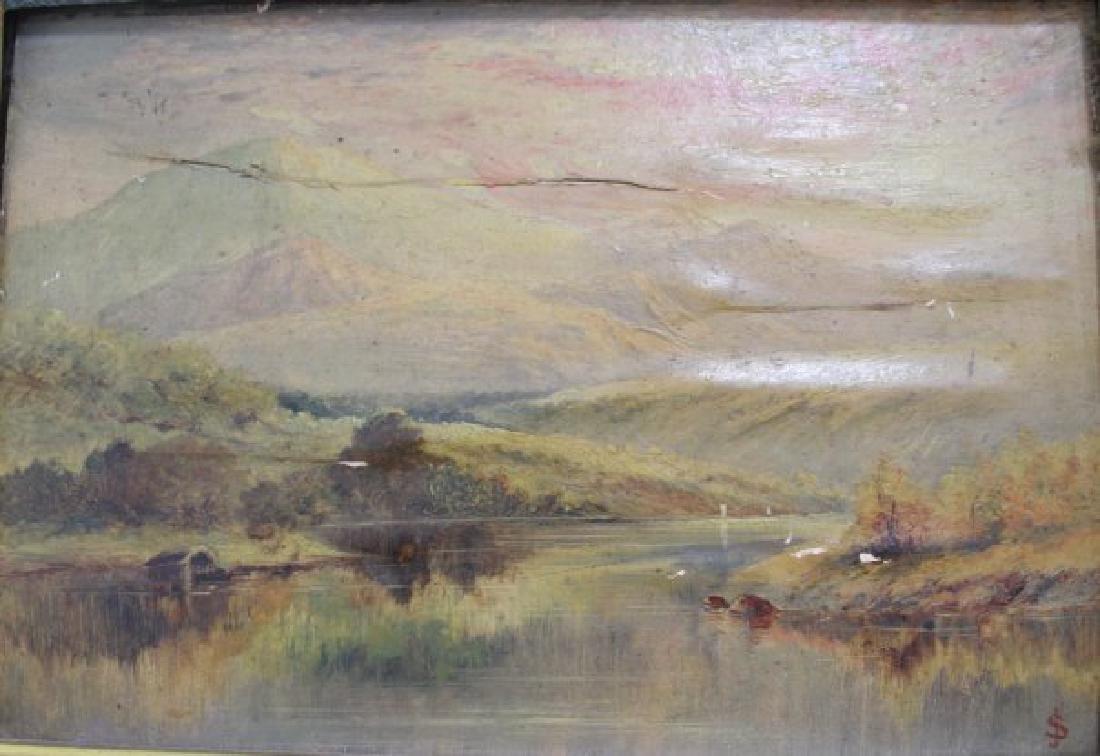 :J. Spinks, Pair Landscapes - 6
