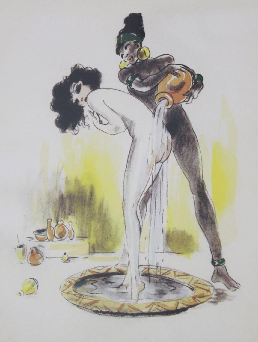 Louis Icart, Woman Being Washed - 3