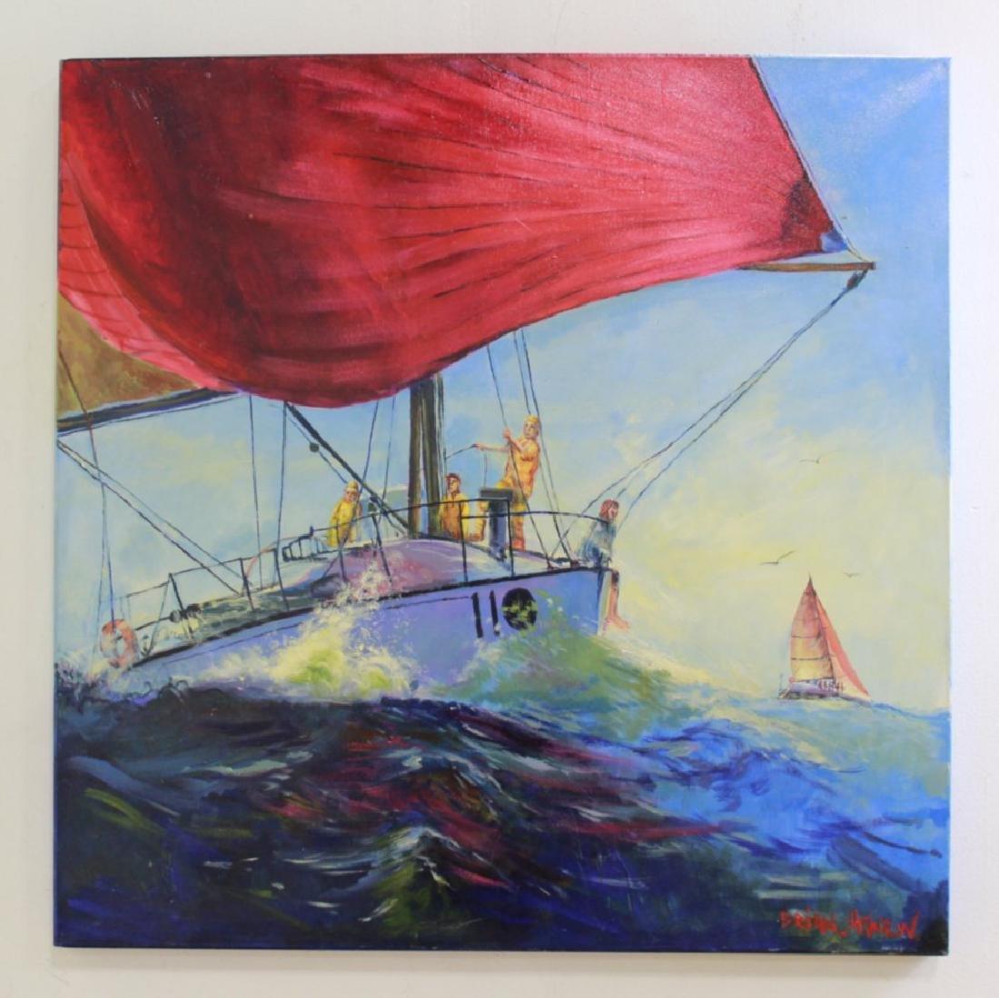 Brian Agnew, Sailing Race