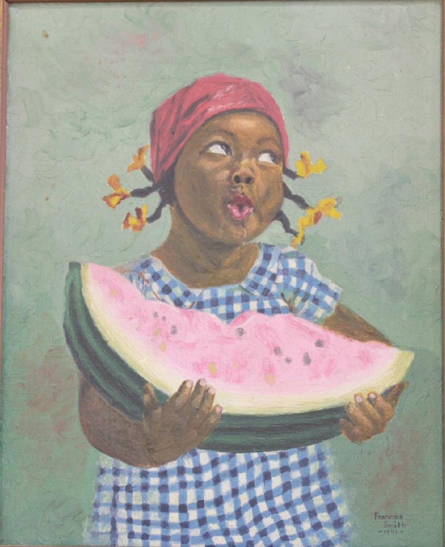 Frances Smith, African-American Child