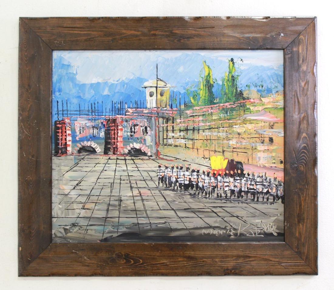 Morris Katz, Wailing Wall - 2