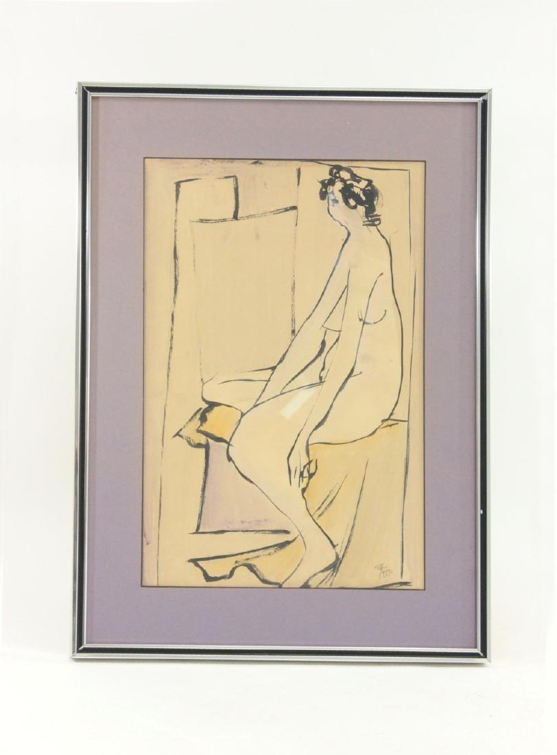 "Leopoldo Torres Aguero, ""Nude Woman"""