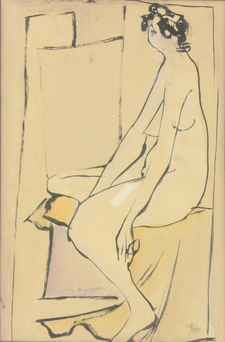 "Leopoldo Torres Aguero, ""Nude Woman"" - 2"