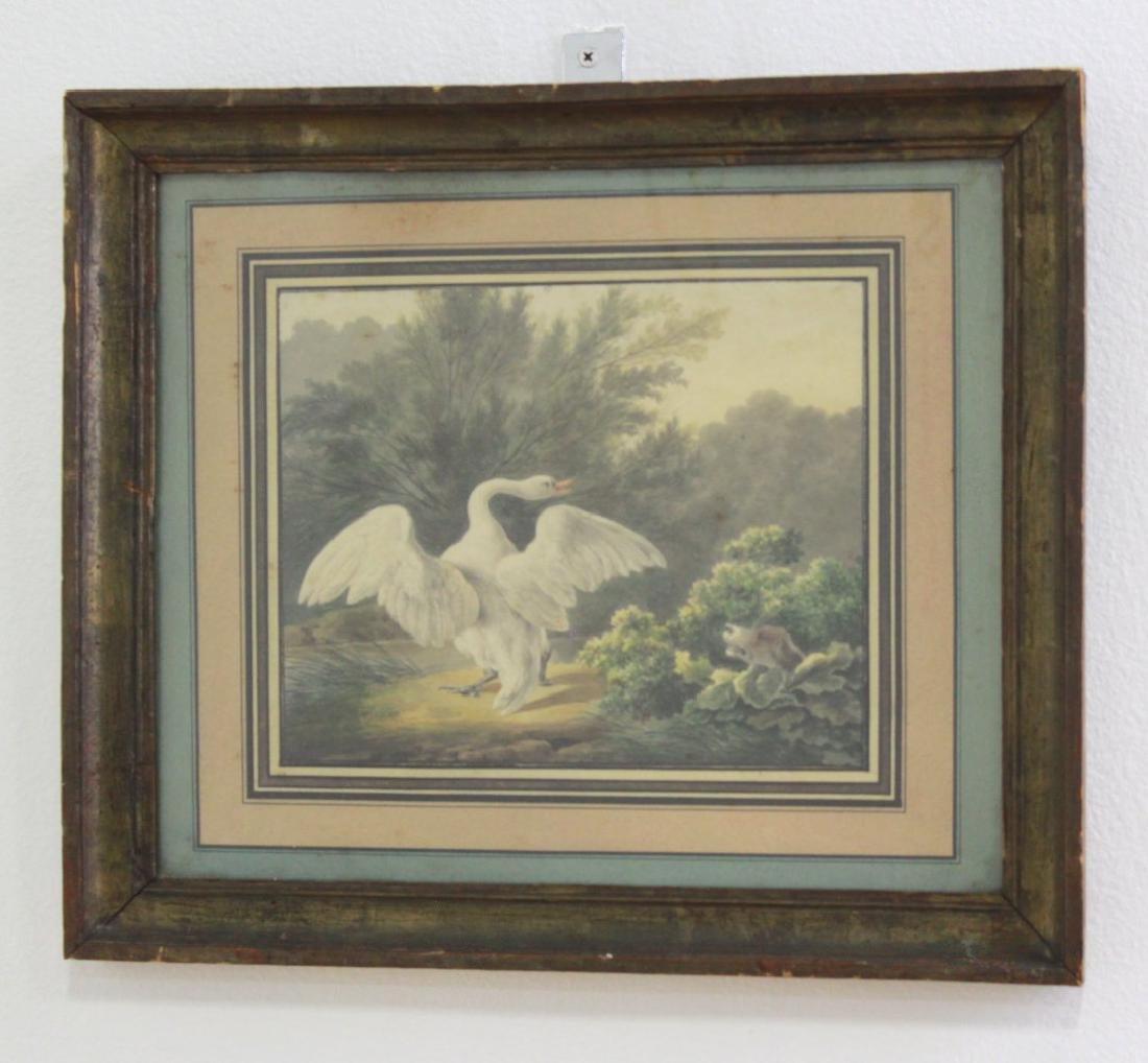 Landscape with Goose & Dog