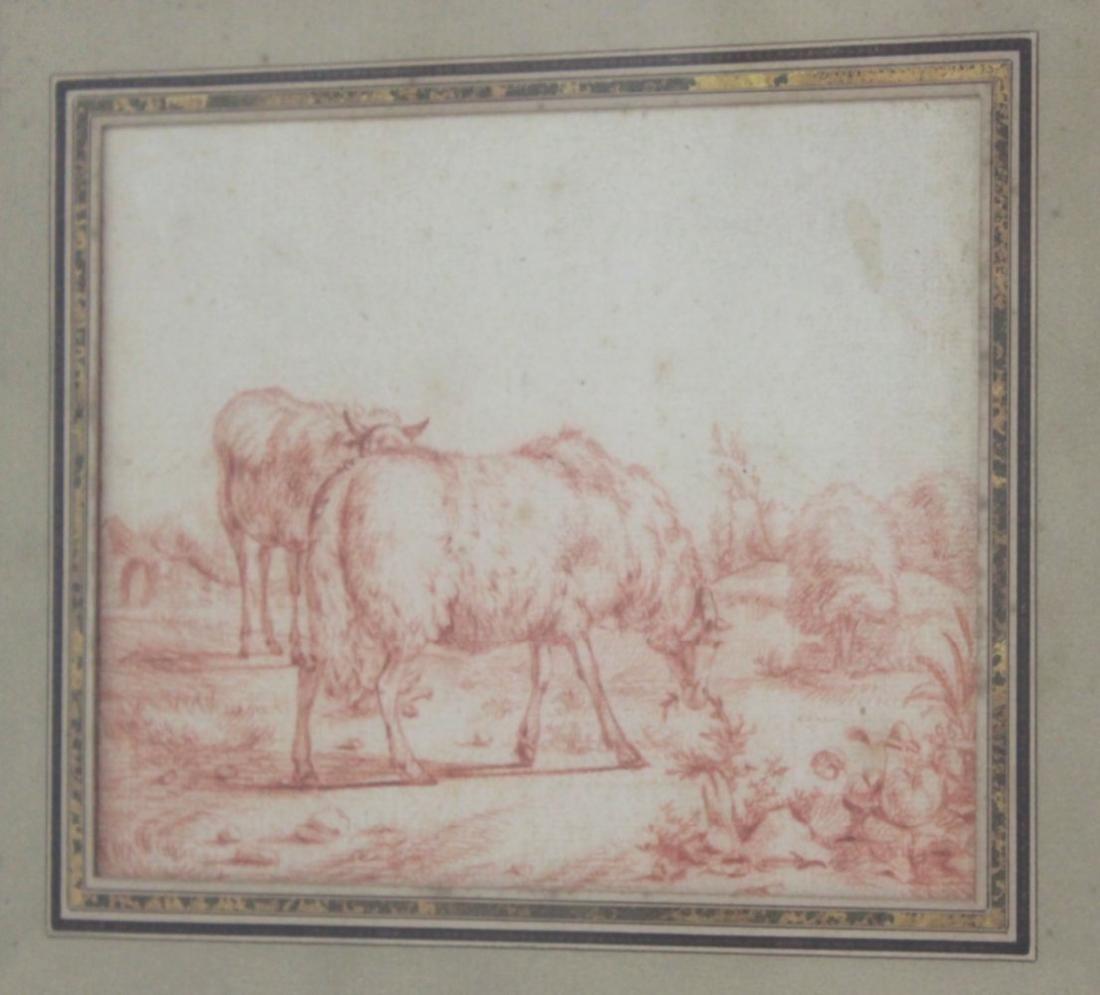 Attr. to Jean-Baptiste Huet, Grazing Sheep - 2
