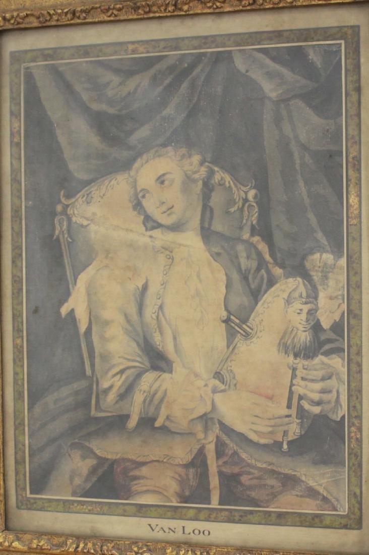 Attr. to Charles Andre Van Loo, Musician - 2