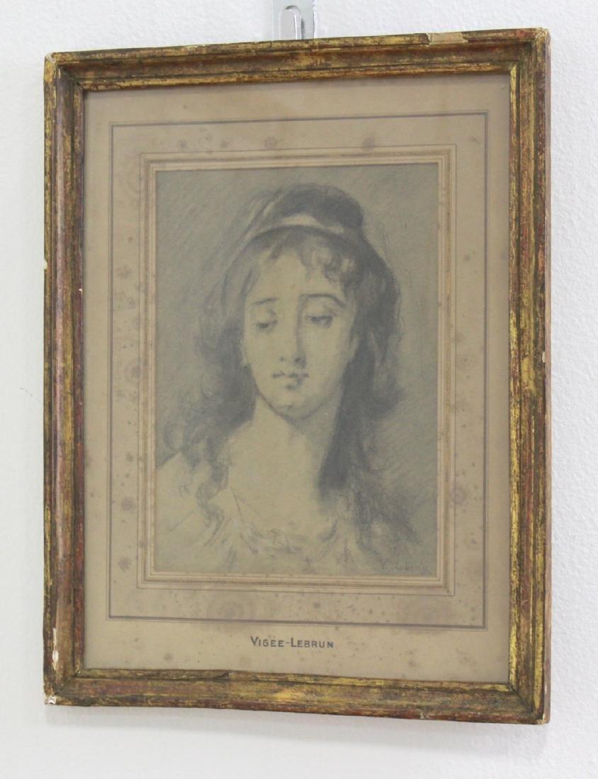 Attr. to Elisabeth Vigée-Lebron, Portrait