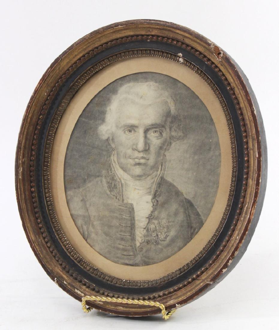 Attr. to Jean-Simon Barthelemy, Portrait