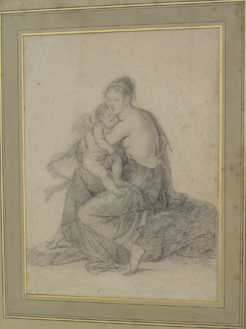 Woman with Putti - 2