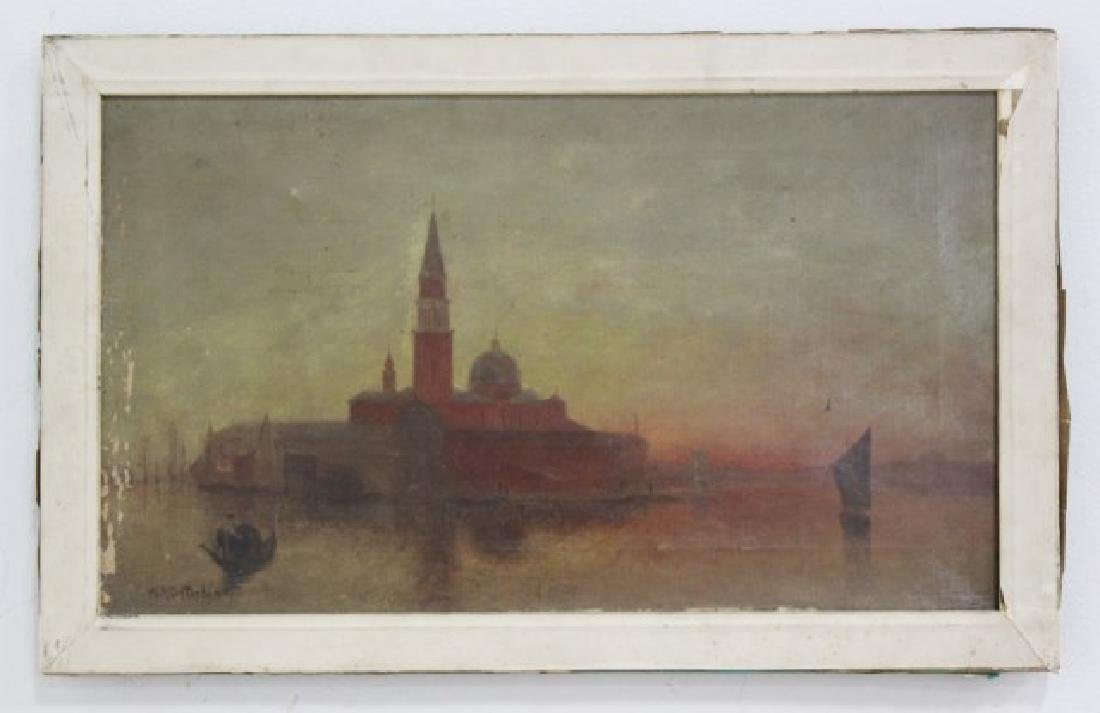 :William Birdsall Gifford, Venetian Scene - 2