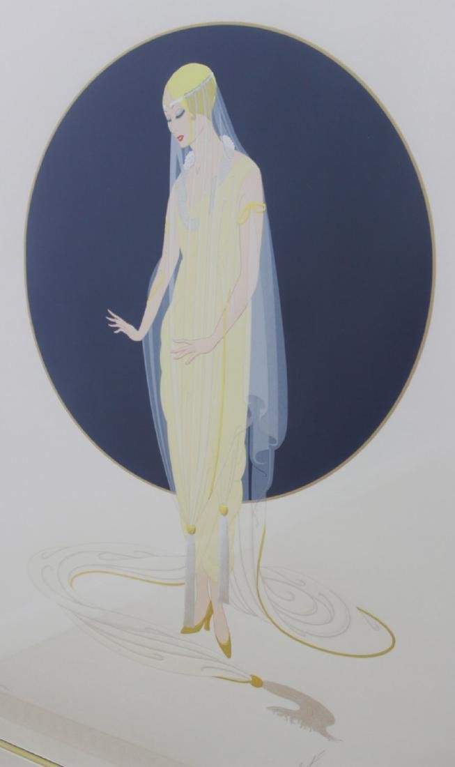 "Erté - Romain de Tirtoff, ""Devotion"" 1987 - 2"