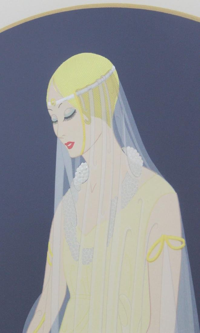 "Erté - Romain de Tirtoff, ""Devotion"" 1987 - 3"