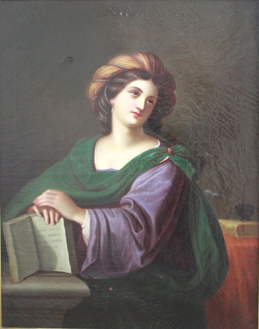Francesco Haez, Portrait of the Sybil