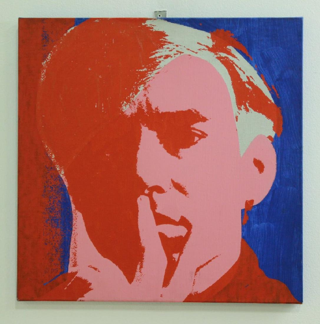 After Andy Warhol, Portrait