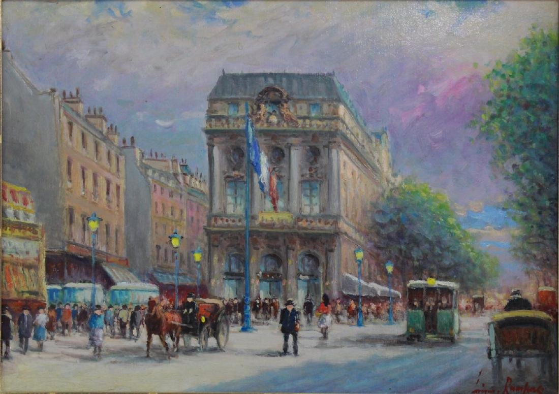 """Luciano Rampazo, """"Le Chatelet"""""""