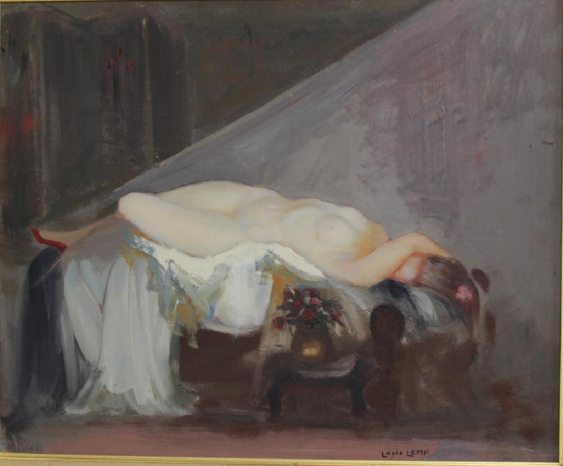 Louis Lemp, Reclining Nude