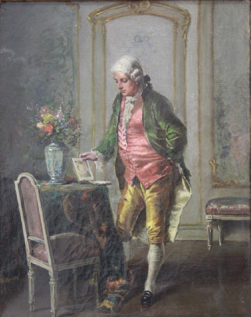 French Gentleman in Parlor