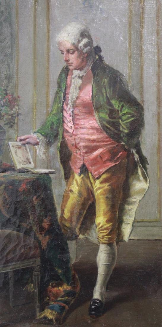 French Gentleman in Parlor - 3