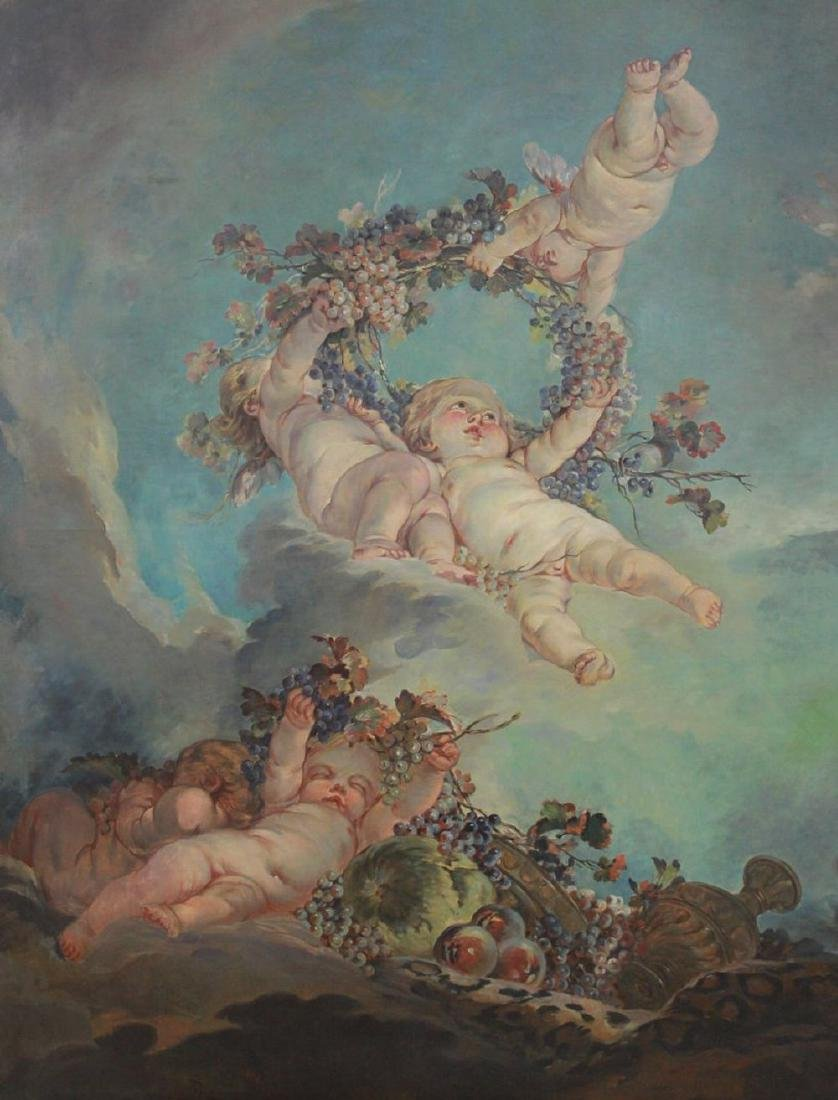 Fontainebleau, Bacchanale of Cherubs in Heaven