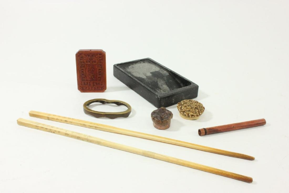 Group Lot of Chinese Items - 4