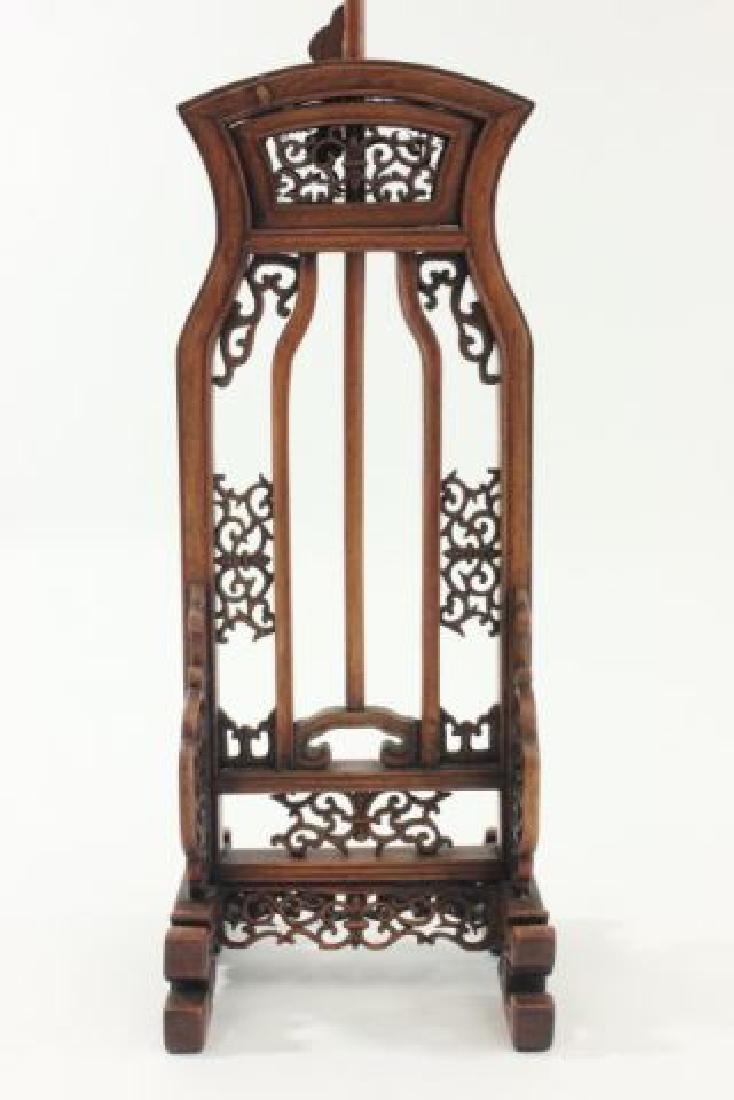 :Pair 19th Century Chinese Adjustable Lamp Stands - 3