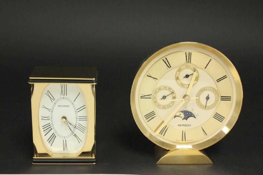 2 Movado Clocks