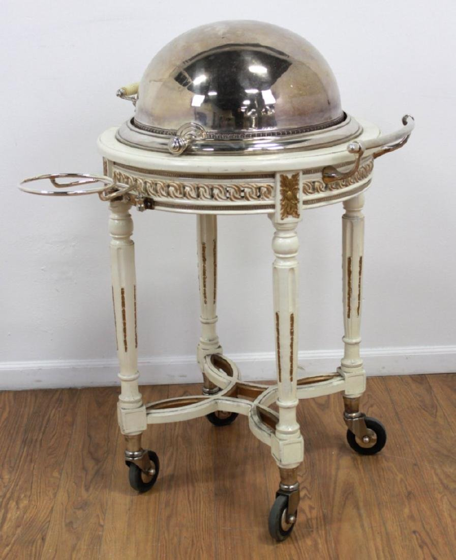 Silverplated Meat Trolley