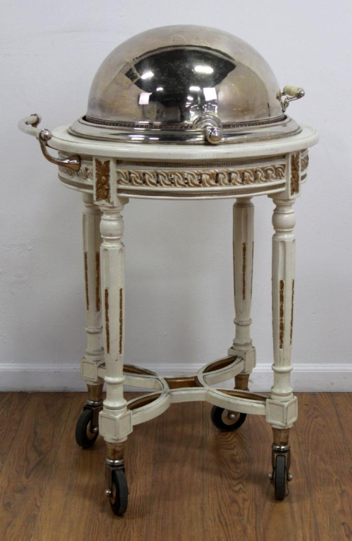 Silverplated Meat Trolley - 2