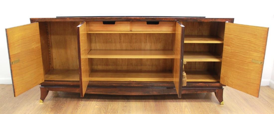 Mid-Century Modern Rosewood French Sideboard - 2