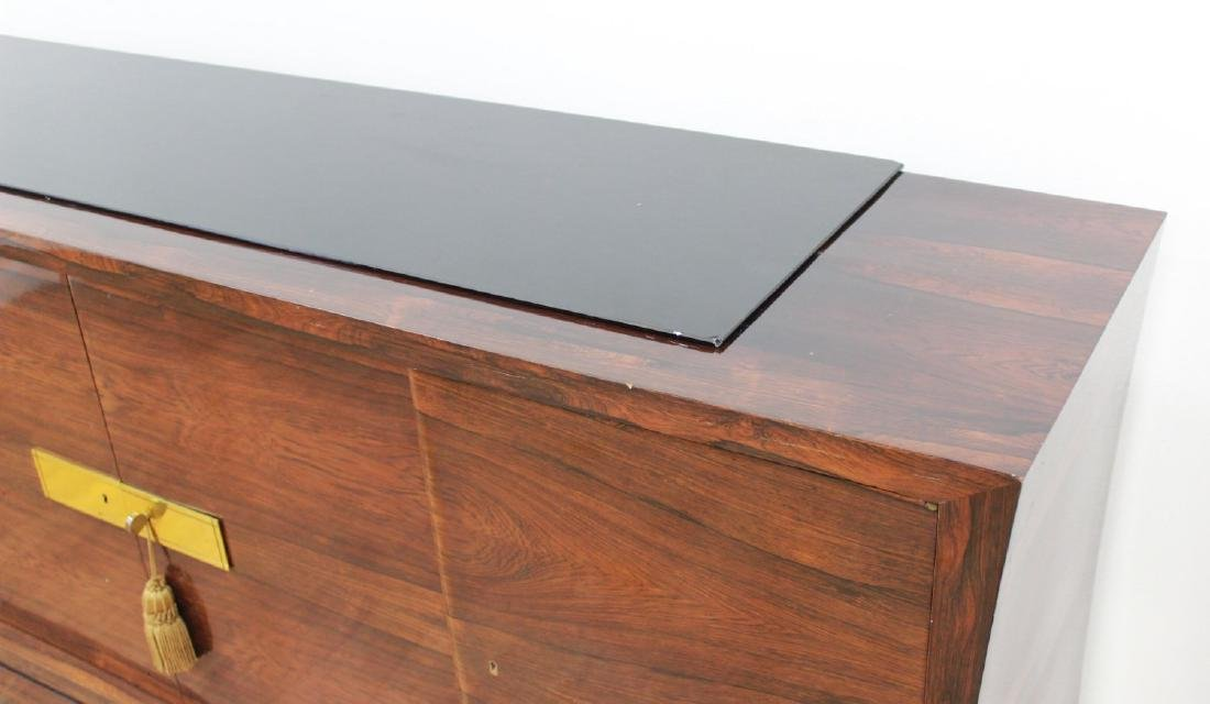 Mid-Century Modern Rosewood French Sideboard - 5