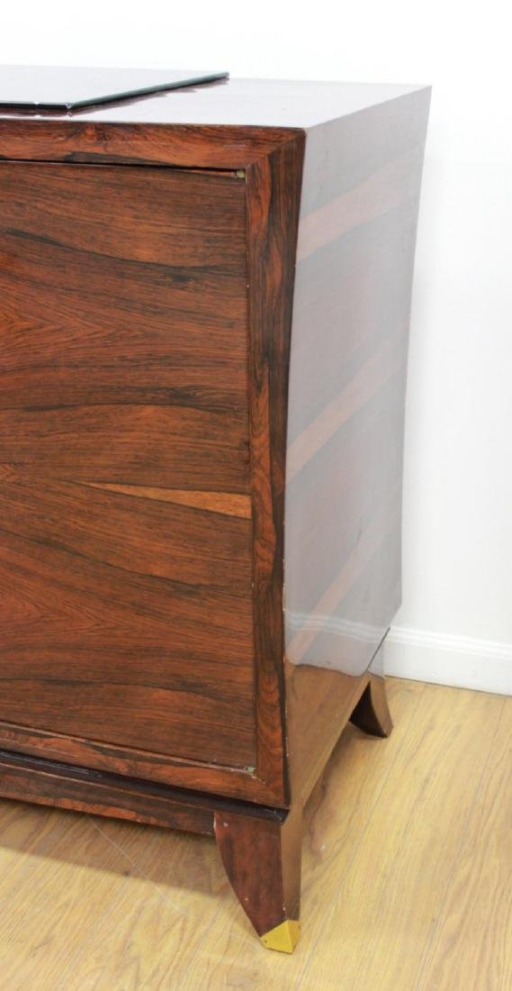 Mid-Century Modern Rosewood French Sideboard - 8
