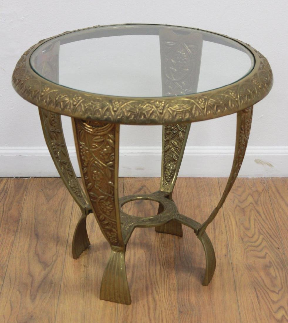Pair Art Deco Style Side Tables - 2