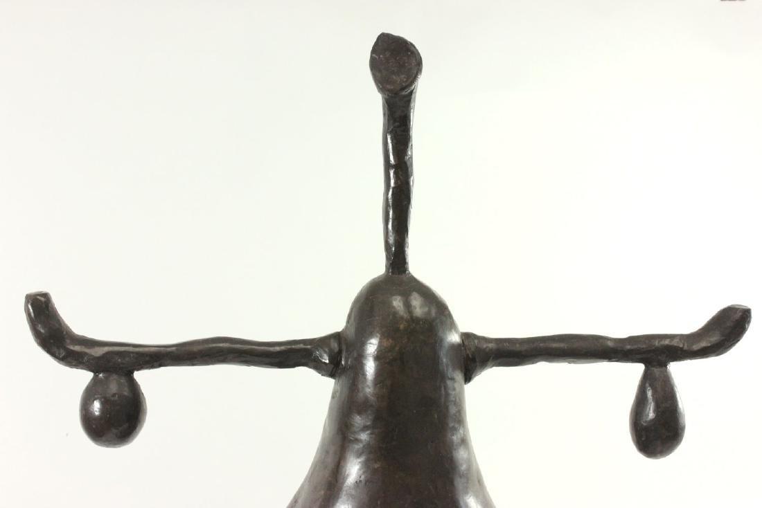 Mid-Century Modern Composition Pear Sculpture - 2