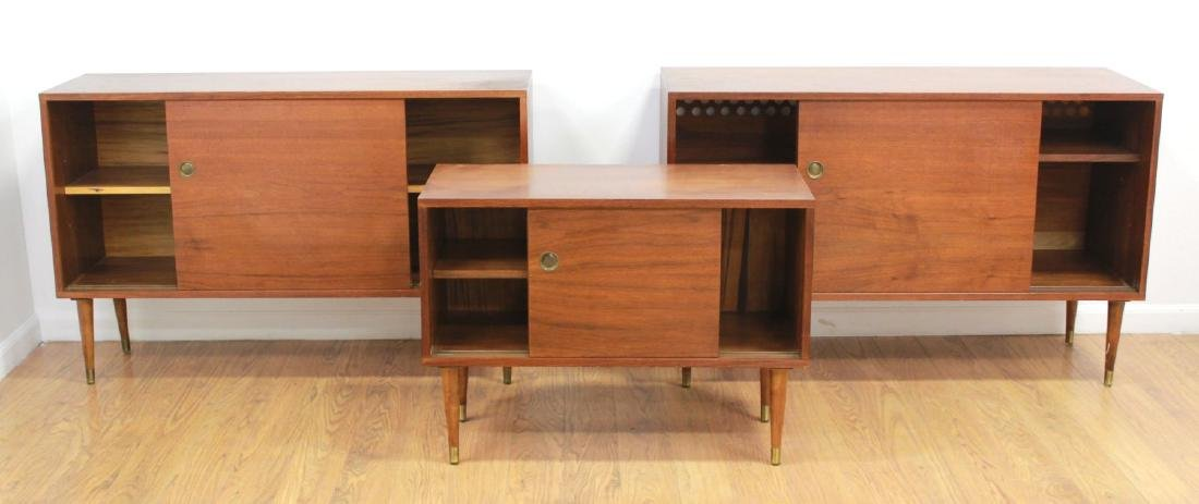 3 Danish Modern Teak Dining Room Pieces - 2