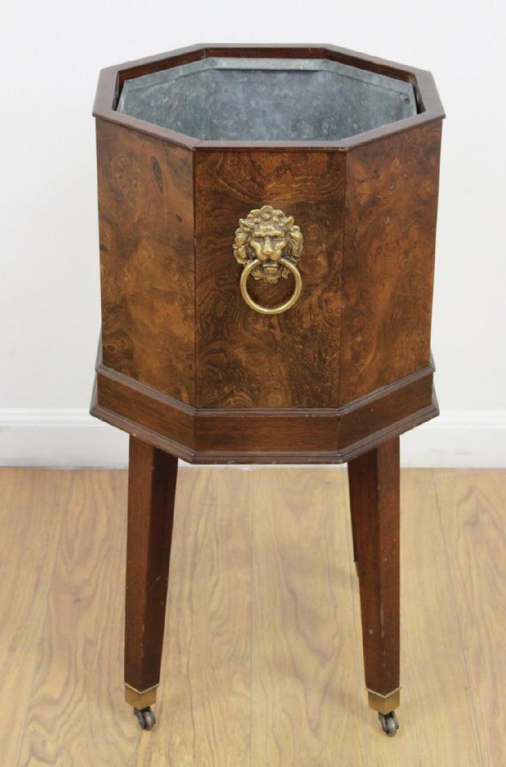 Burled Wood Wine Cistern