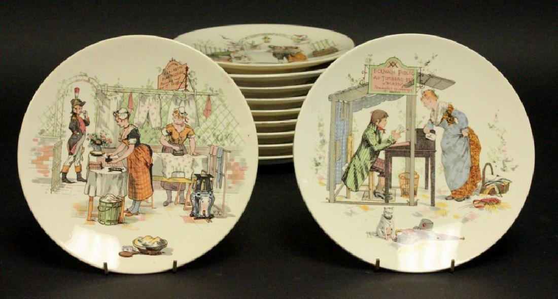 11 Saraguemes France Scenic Plates