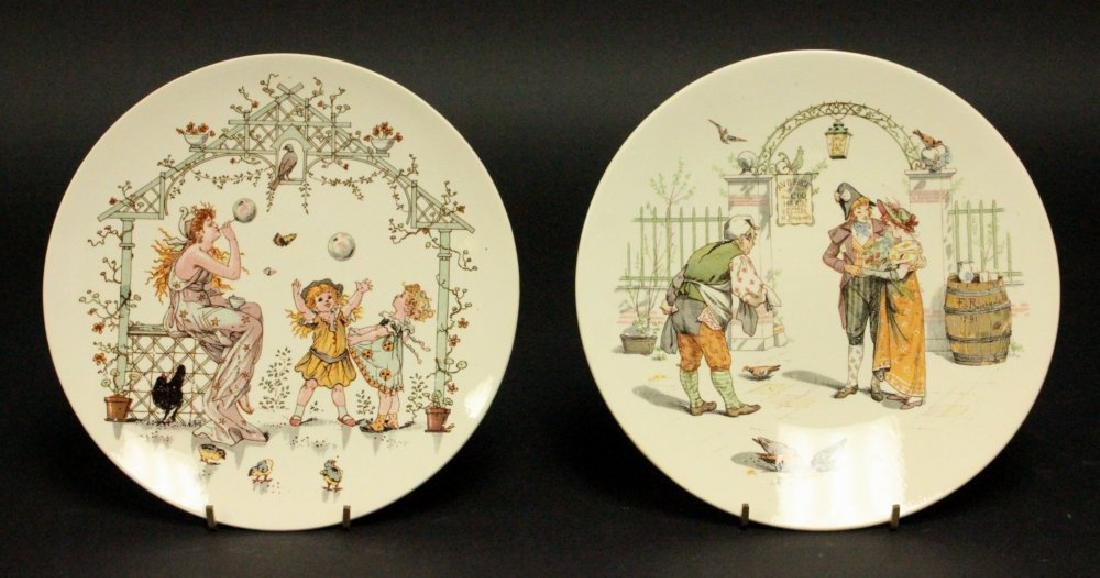 11 Saraguemes France Scenic Plates - 2