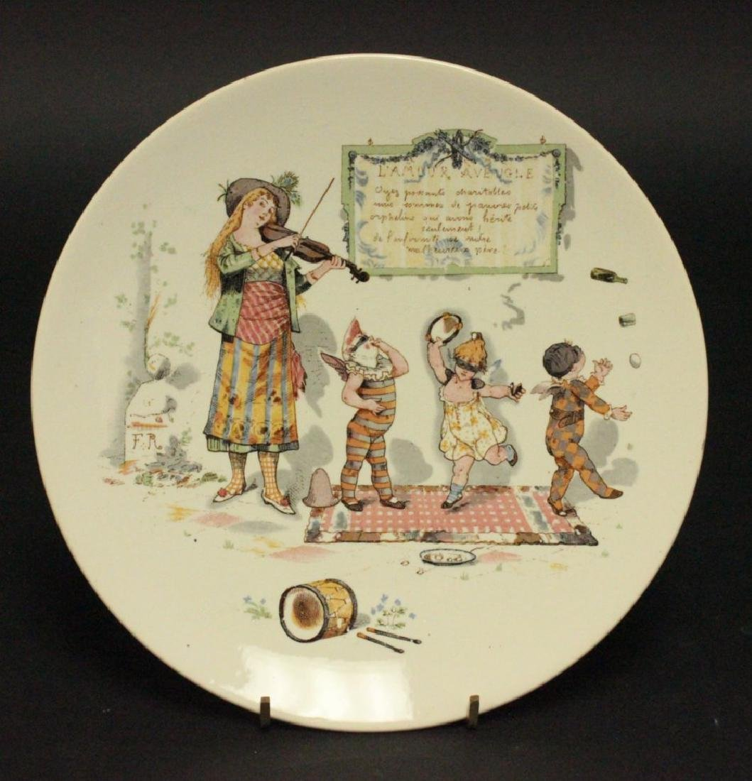 11 Saraguemes France Scenic Plates - 3