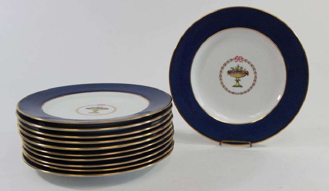 11 Spode Luncheon Plates