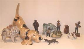 7: GROUP LOT FIGURINES
