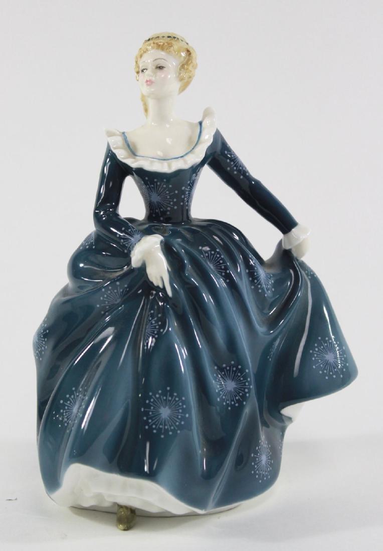 3 Figurines, Doulton, Rosenthal, Copenhagen - 2