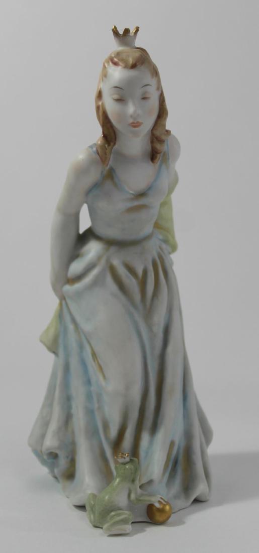 3 Figurines, Doulton, Rosenthal, Copenhagen - 3
