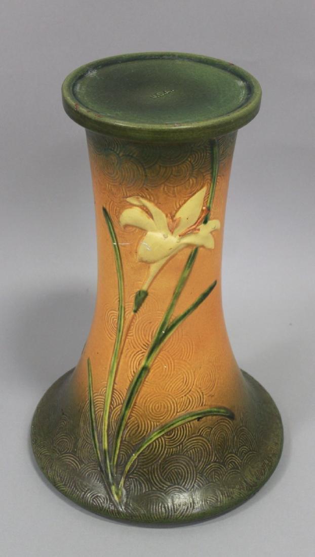 Roseville Jardiniere & Pedestal - 4