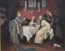 "Hugo Kauffmann, ""The Dinner"""