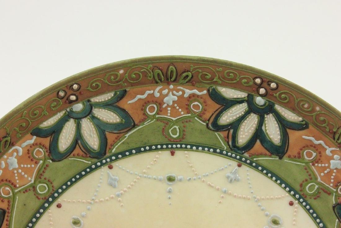 Nippon Handpainted Plate of Dog's Head - 3