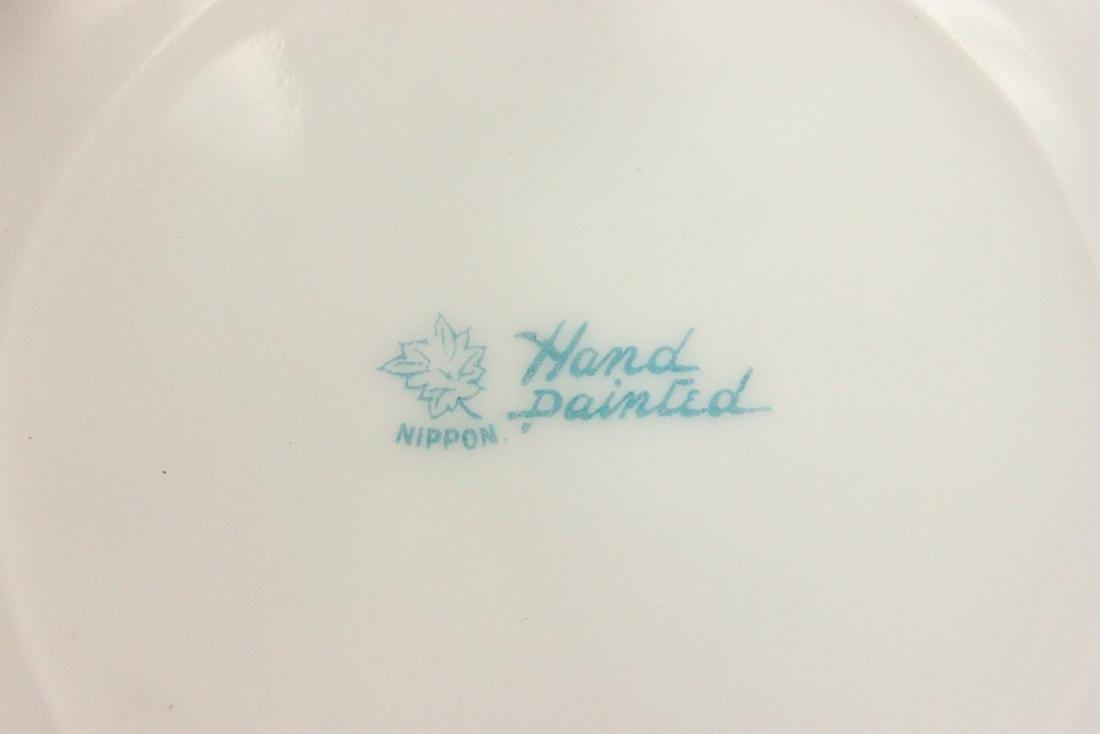 Nippon Handpainted Plate of Dog's Head - 4