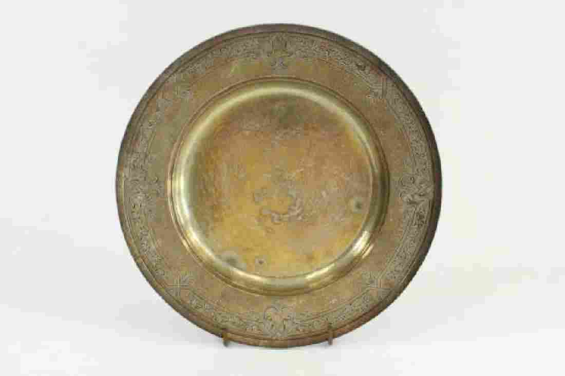 :Round Sterling Silver Tray