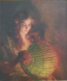Luis Graner, Lady with Lantern